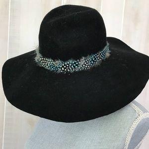 American eagle boho feather hat